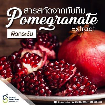สารสกัดจาก ทับทิม (Pomegranate Extract)