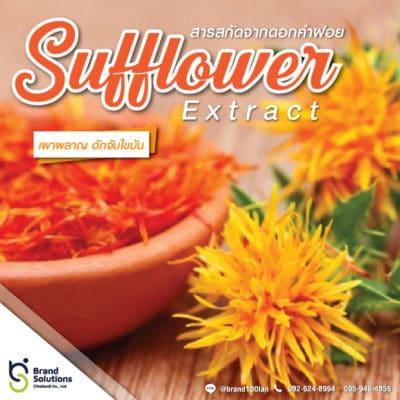 สูตรสารสกัดจากดอกคำฝอย Safflower Extract