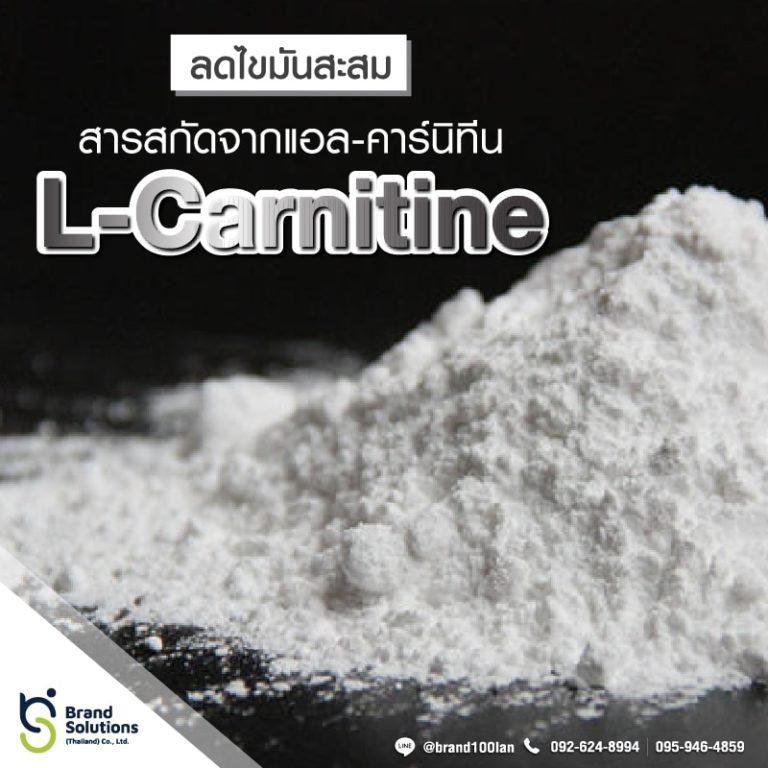 สูตรสารสกัดจากแอล-คาร์นิทีนL-Carnitine