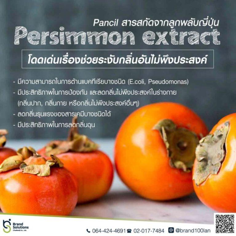สารสกัดจากลูกพลับญี่ปุ่น Persimmon extract